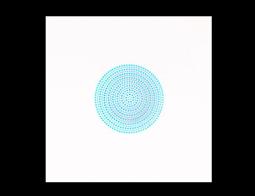 Azzurro opera Angelo Muriotto artista