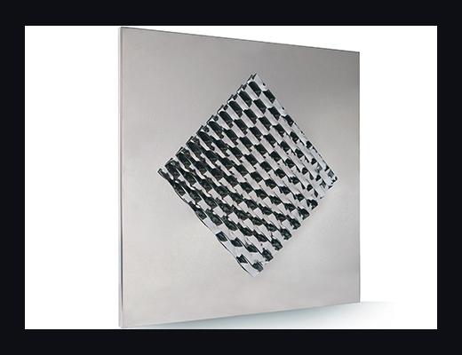 forma su specchio opera Angelo Muriotto artista