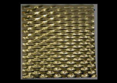 Lamiera stirata placcata oro 2011